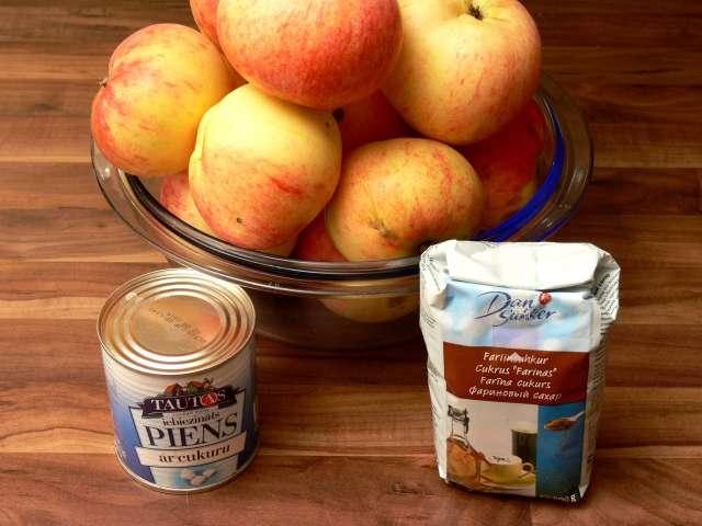 Āboli ar iebiezināto pienu