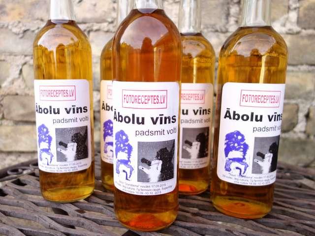 Ābolu vīns