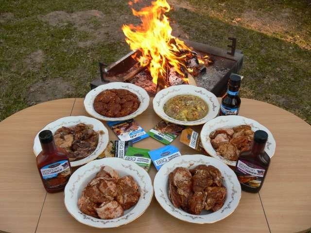 BBQ marinādes, mērces un eļļa